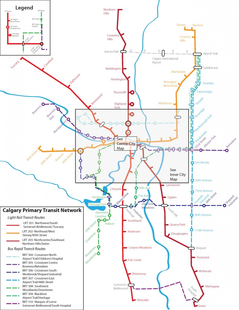 Calgary S 8 Billion Transit Plan The Routeahead Page